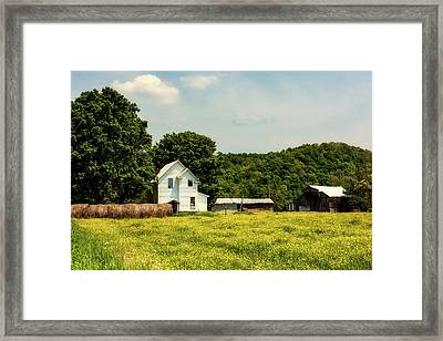 Beautiful West Virginia Framed Print by L O C