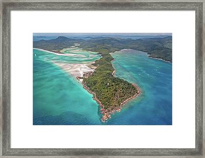 Framed Print featuring the photograph Beautiful Whitsundays by Az Jackson
