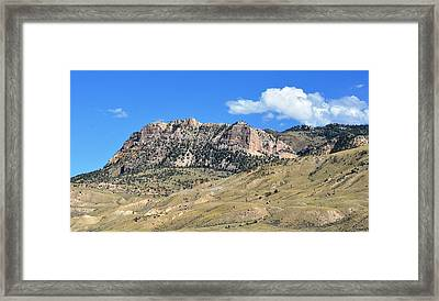 Beautiful Wyoming Framed Print