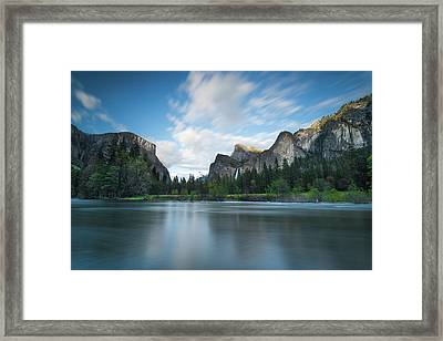 Beautiful Yosemite Framed Print by Larry Marshall