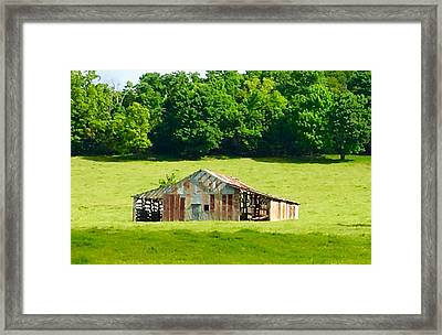 Beautifully Noble Barn Framed Print