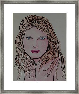 Beauty 1 Framed Print by Joshua Armstrong