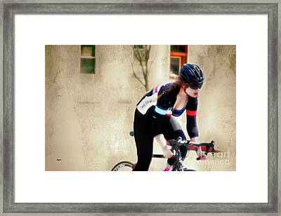 Beauty And Her Beast  Framed Print by Steven Digman