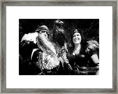 Framed Print featuring the photograph Beauty And The Beasts by Bob Christopher