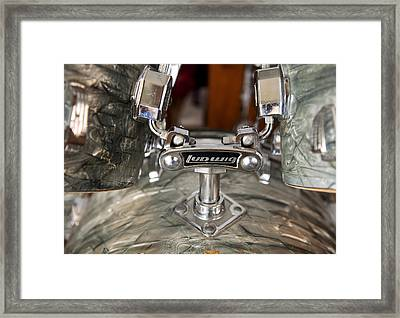 Beauty And The Beat Framed Print