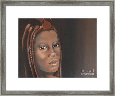 Beauty Framed Print by Annemeet Hasidi- van der Leij
