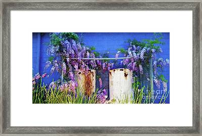 Beauty Before Age By Kaye Menner Framed Print