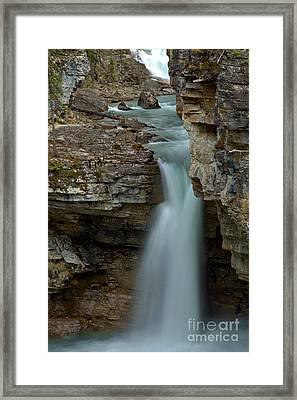 Beauty Creek Blue Falls Framed Print