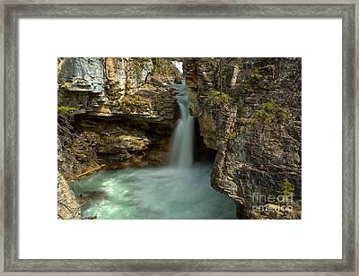 Beauty Creek Canyon Falls Framed Print