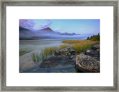 Beauty Creek Dawn Framed Print