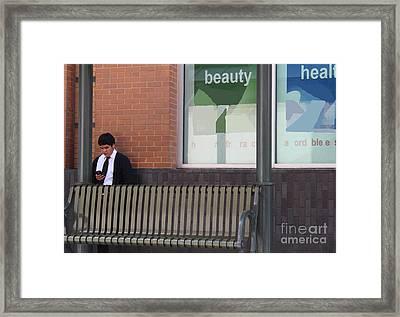 Beauty Health Youth Framed Print