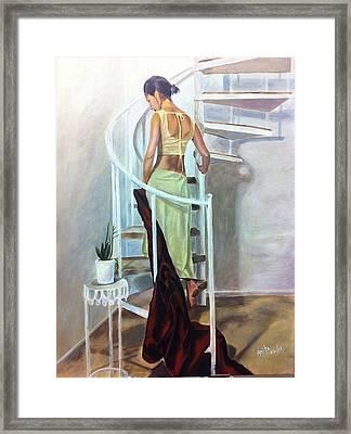 Beauty In Framed Print by Anita  Maharjan