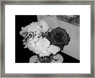 ..beauty In Black And White.... Framed Print by Adolfo hector Penas alvarado