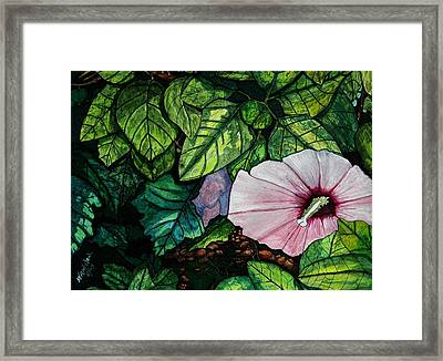 Beauty In Bloom Framed Print by Willie McNeal