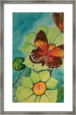 Beauty In Butterflies Framed Print