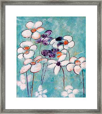 Finding Beauty In Chaos Framed Print