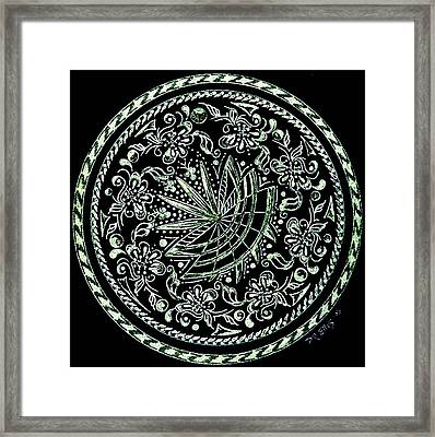 Beauty In Confusion Framed Print by Pam Ellis