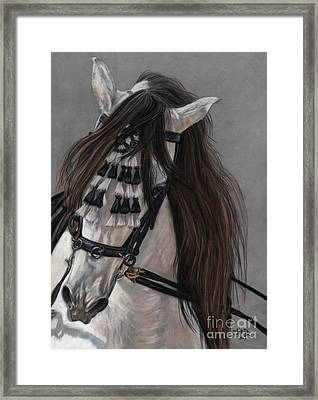Framed Print featuring the painting Beauty In Hand by Sheri Gordon
