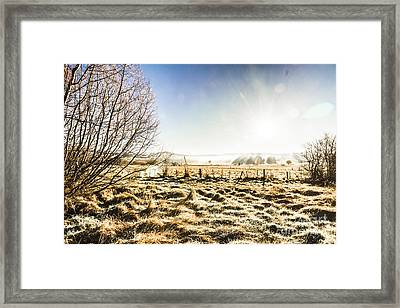 Beauty In Rural Winters Framed Print by Jorgo Photography - Wall Art Gallery