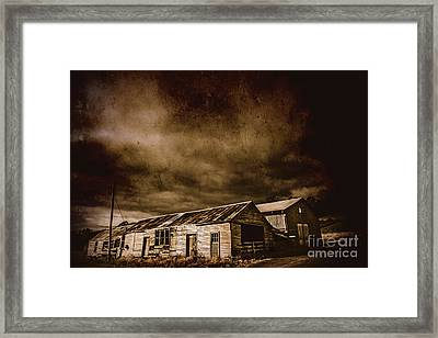 Beauty In Rustic Decay Framed Print by Jorgo Photography - Wall Art Gallery