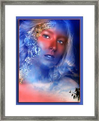 Beauty In The Clouds Framed Print by Clayton Bruster
