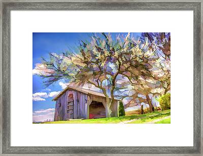 Beauty In The Country Framed Print