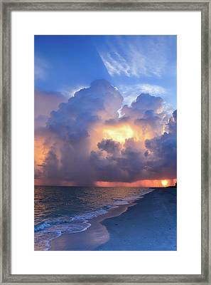 Framed Print featuring the photograph Beauty In The Darkest Skies II by Melanie Moraga