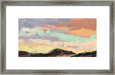 Beauty In The Journey Framed Print by Nathan Rhoads