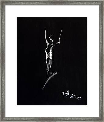 Beauty In The Shadows 6 Framed Print by Don MacCarthy
