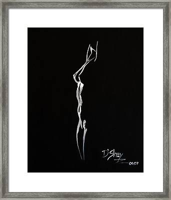 Beauty In The Shadows 8 Framed Print by Don MacCarthy
