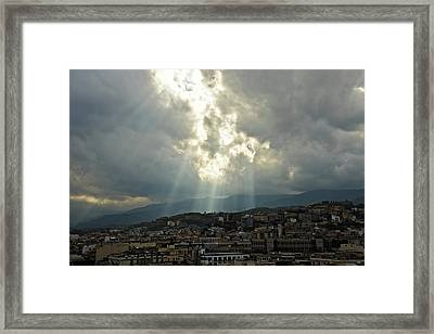 Beauty In The Sky Framed Print by Cendrine Marrouat