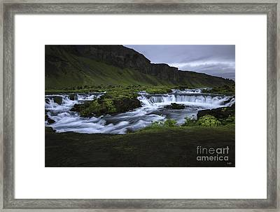 Beauty Is Everywhere In Iceland Framed Print