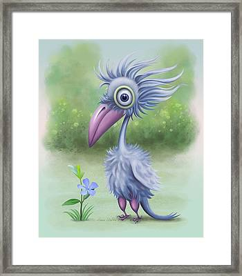 Framed Print featuring the painting Beauty Is Subjective by Ivana Westin