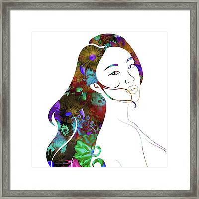 Beauty Lingers Framed Print
