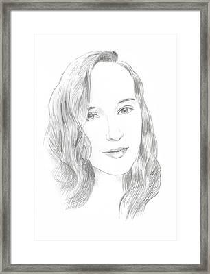 Beauty Framed Print by Masha Batkova