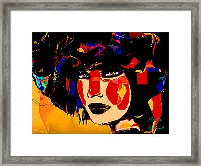 Beauty Of A Woman Framed Print by Natalie Holland