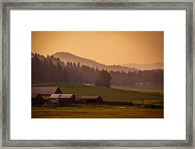 Beauty Of Black Hills, South Dakota Framed Print