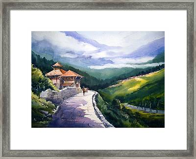 Beauty Of Himalaya Framed Print by Samiran Sarkar