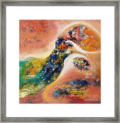 Beauty Of Mirage Framed Print
