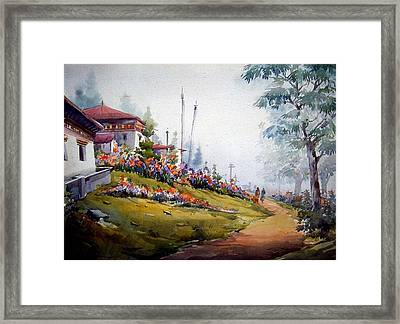 Beauty Of Nature Framed Print by Samiran Sarkar