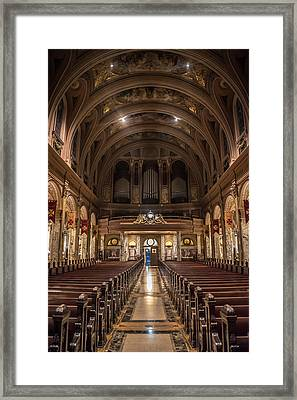 Beauty Of Religious Architecture  Framed Print