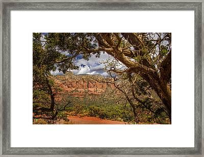 Beauty Of Sedona - Arizona Framed Print by Jon Berghoff