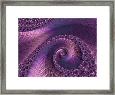 Beauty Of Sorrow Framed Print