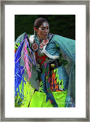 Beauty Of The Dance Framed Print by Bob Christopher