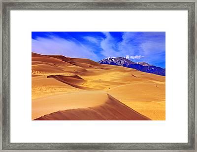 Beauty Of The Dunes Framed Print by Scott Mahon