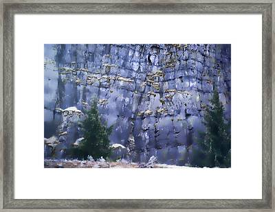 Framed Print featuring the photograph Beauty Of The Gorge by Dale Stillman