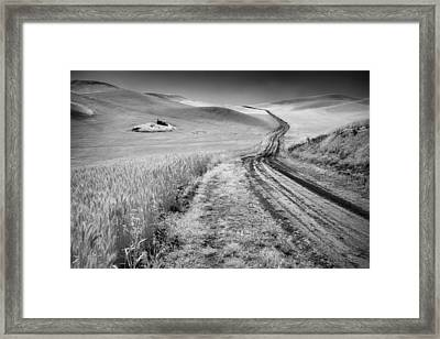 Beauty Of The Open Road Framed Print