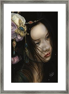 Beauty Of The Orient Framed Print by Wayne Pruse