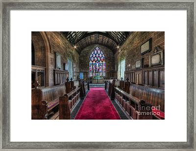Beauty Of The Soul Framed Print