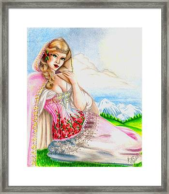 Beauty Of The View Framed Print by Scarlett Royal